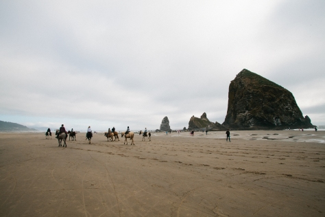 Cannon Beach Oregon Haystack Rock Pacific Northwest