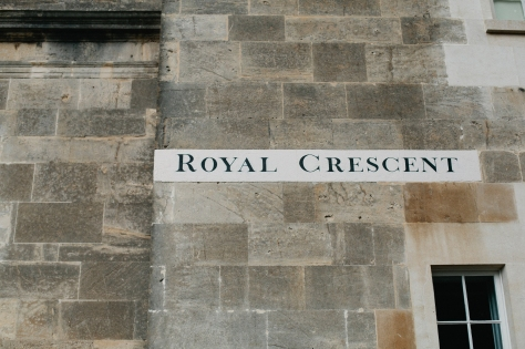Bath England Royal Crescent