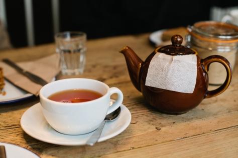 Society Cafe Bath England Tea