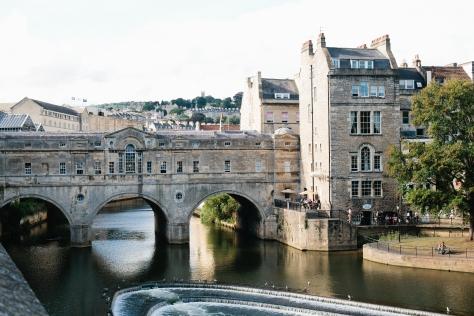 Bath England River Avon