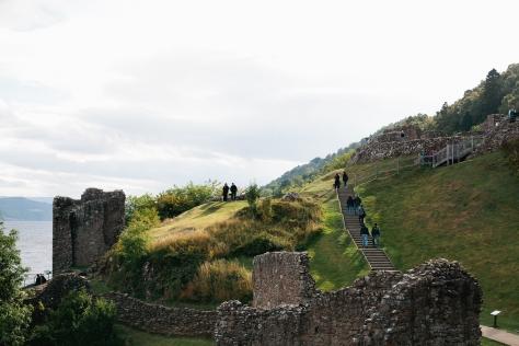 Scotland Highlands Loch Ness Castle Urquhart
