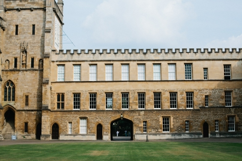 Oxford England New College