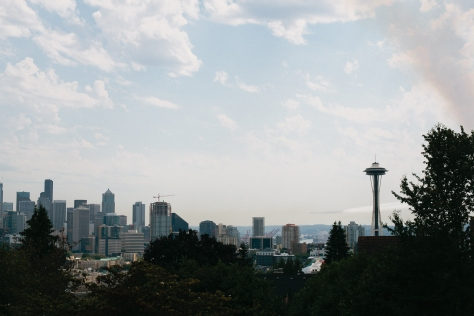 seattle washington space needle queen anne
