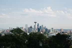 seattle washington space needle queen anne kerry park